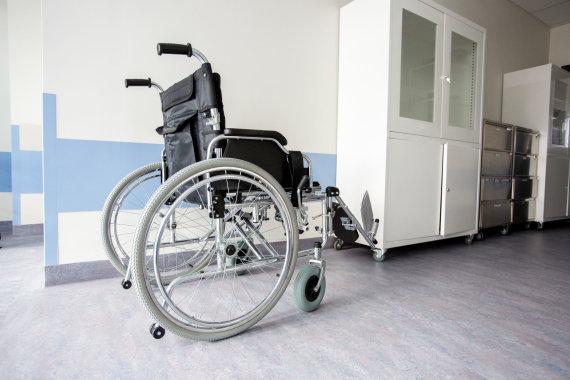 Vidmanto Balkūno / 15min nuotr./Neįgaliojo vežimėlis