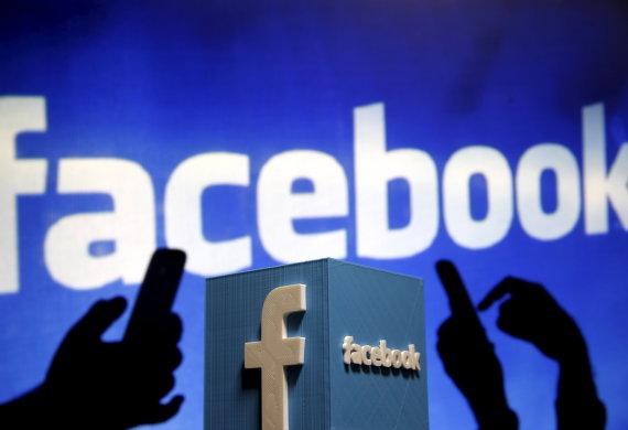 "Scanpix nuotr./""Facebook"" logotipas"