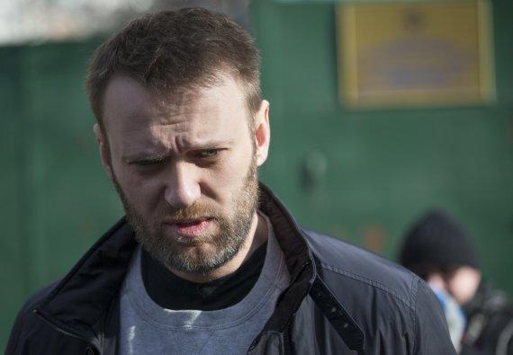 """""""Scanpix""""/AP nuotr./Rusijos opozicijos atstovas Aleksejus Navalnas."""