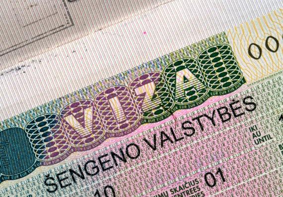 123rf.com nuotr. /Lietuvos išduoda Šengeno zonos viza