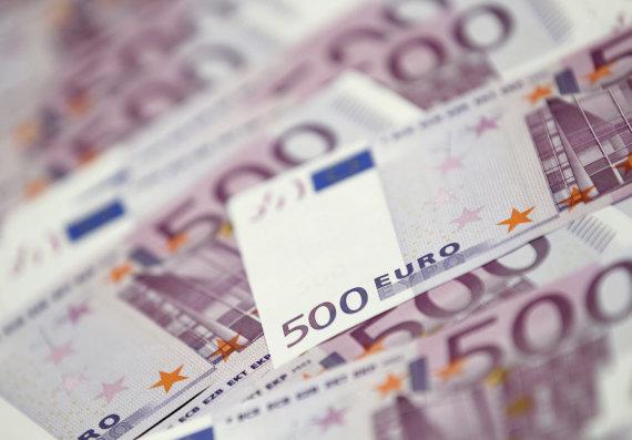 """Reuters""/""Scanpix"" nuotr./500 eurų kupiūros"