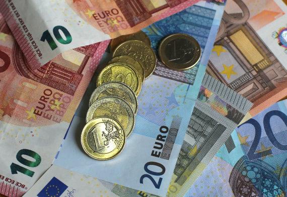 """Scanpix""/""PA Wire""/""Press Association Images"" nuotr./Eurų banknotai"