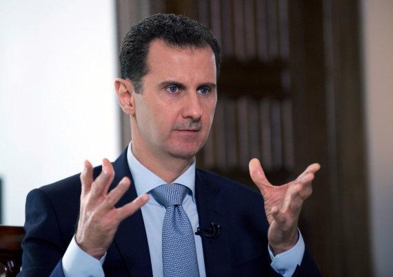 "AFP/""Scanpix"" nuotr./Sirijos prezidentas Basharas al Assadas"