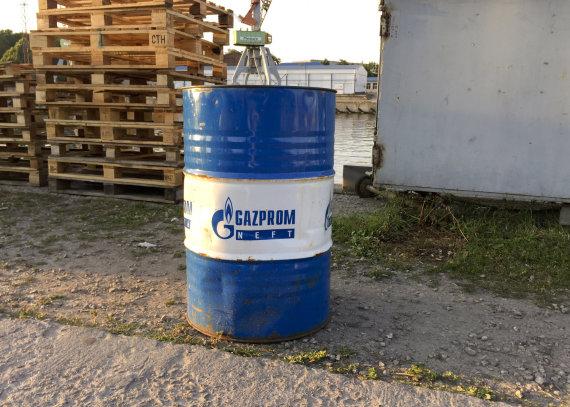"""Valdo Kopūsto / 15min nuotr./""""Gazprom"""""""