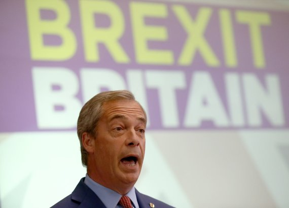 """Reuters""/""Scanpix"" nuotr./Nigelas Farage'as"