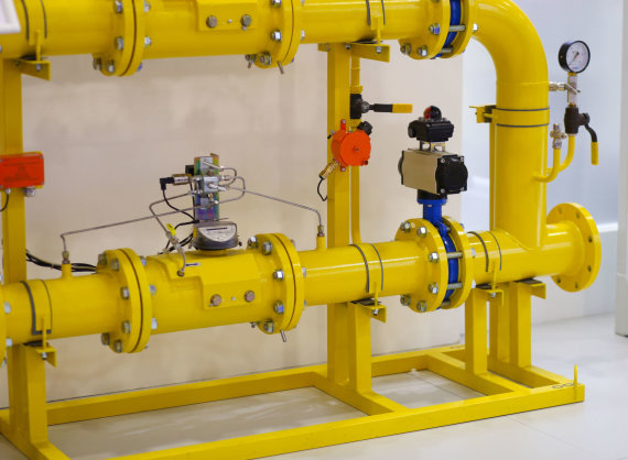 123rf.com nuotr. /Dujotiekio sistemos dalis