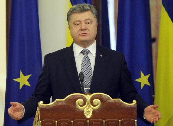 """Scanpix""/AP nuotr./Ukrainos prezidentas Petro Porošenka"