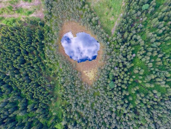 Luko Balandžio / 15min nuotr./Šventas – ežeras šiaurės rytų Lietuvoje