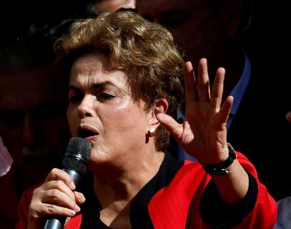 """""""Reuters""""/""""Scanpix"""" nuotr./Demonstracija Brazilijoje"""