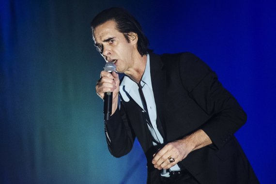 "Vida Press nuotr./""Nick Cave and the Bad Seeds"""