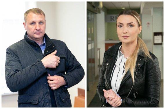 Josvydo Elinsko / 15min nuotr./Monika ir Andrius Šedžiai