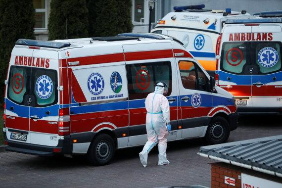 """""""Reuters""""/""""Scanpix"""" nuotr./Ligoninė Varšuvoje"""