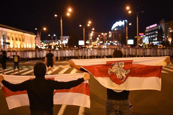 "AFP/""Scanpix"" nuotr./Neramumai Minske"