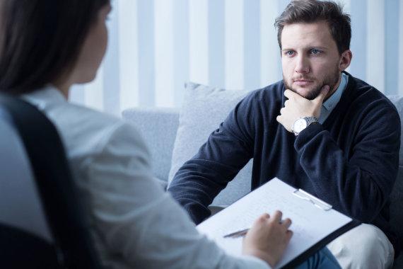 123RF.com nuotr./Vizitas pas psichologą