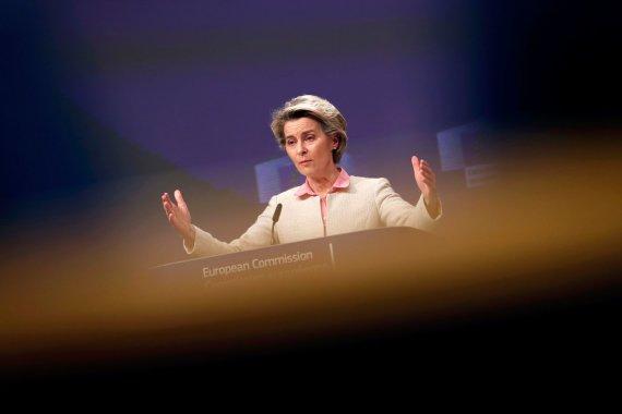"""AFP/""""Scanpix"""" nuotr./Ursula von der Leyen"""