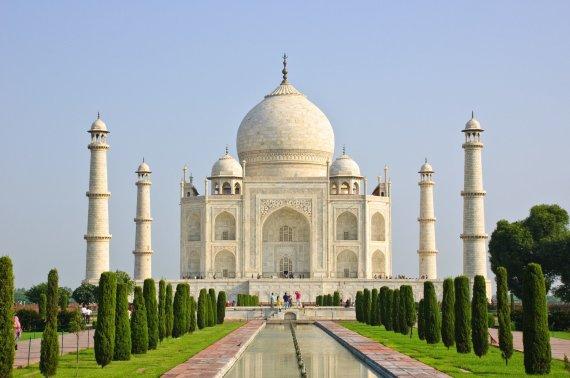 123rf.com nuotr./Tadžmachalas, Indija