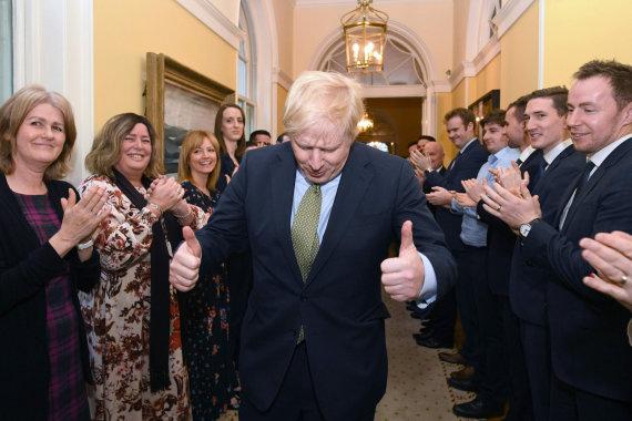 """AFP/""""Scanpix"""" nuotr./Borisas Johnsonas"""