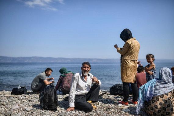 """AFP/""""Scanpix"""" nuotr./Migrantai Turkijoje"""