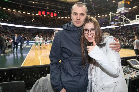 Eriko Ovčarenko / 15min nuotr./Ieva Zasimauskaitė ir Marius Kiltinavičius