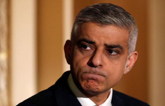 """""""Reuters""""/""""Scanpix"""" nuotr./Londono meras Sadiqas Khanas"""
