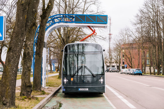 """Domo Rimeikos nuotr./""""Dancer"""" elektrinis autobusas"""