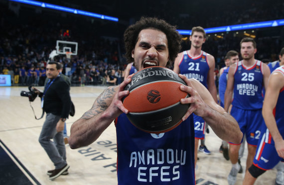 Euroleague.net nuotr./Shane'as Larkinas