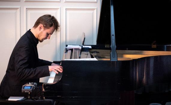 Asmeninio archyvo nuotr./Pianistas Paulius Pancekauskas