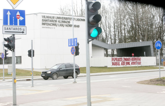 Valdo Kopūsto / 15min nuotr./Vilnius per karantiną