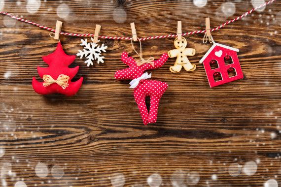 Fotolia nuotr./Kalėdinės dekoracijos