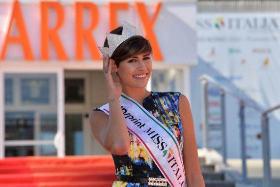 """""""Scanpix"""" nuotr./""""Mis Italija 2015"""" Alice Sabatini"""