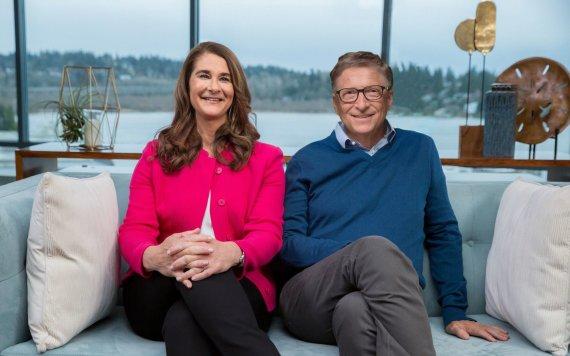 """Scanpix""/""Sipa USA"" nuotr./Melinda Gates ir Billas Gatesas"