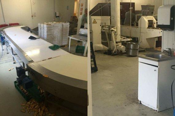 """Skaitytojos Karolinos nuotr./Įmonės """"Trys kepėjai"""" parduodamos produkcijos gamybos procesas"""