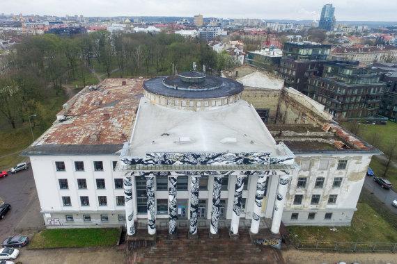 Luko Balandžio / 15min nuotr./Vilniaus profesinių sąjungų rūmai