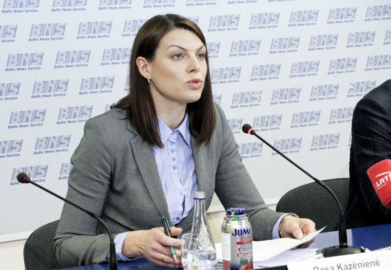 Valdo Kopūsto / 15min nuotr./R.Kazėnienės spaudos konferencija