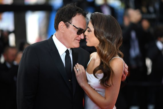 """Scanpix"" nuotr./Quentinas Tarantino ir Daniella Pick"