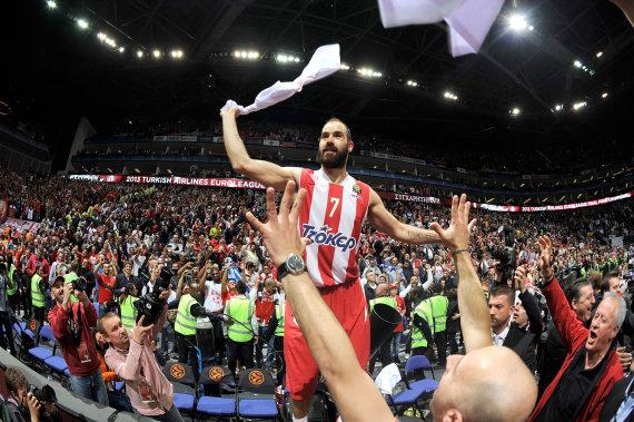 Getty Images/Euroleague.net nuotr./Vassilis Spanoulis 2013 m.