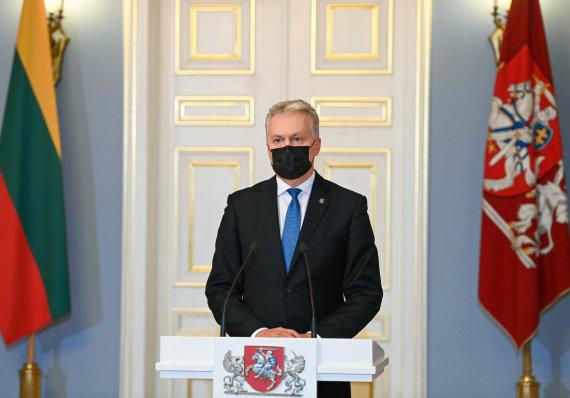 LR Prezidento kanceliarijos/R.Dačkaus nuotr./Prezidento susitikimas su paskirtąja Ministre Pirmininke Ingrida Šimonyte
