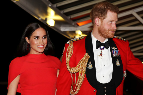"""Reuters""/""Scanpix"" nuotr./Meghan Markle ir princas Harry"