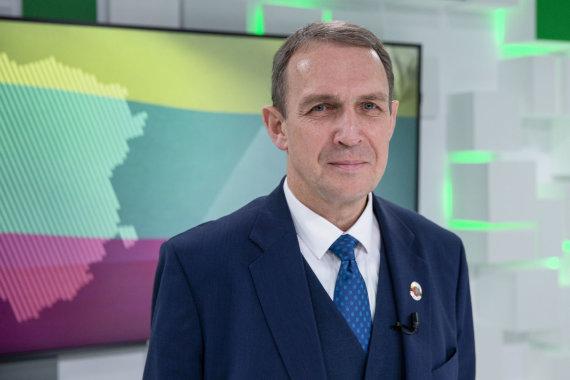 Luko Balandžio / 15min nuotr./15min studijoje – prezidento posto siekiantis Arvydas Juozaitis