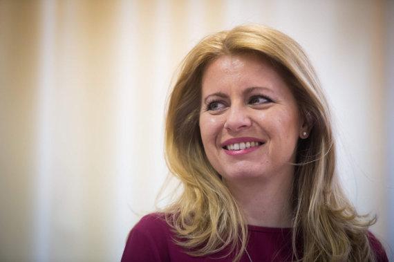 """AFP/""""Scanpix"""" nuotr./Zuzana Čaputova"""