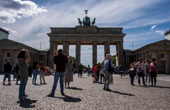 "AFP/""Scanpix"" nuotr./Brandenburgo vartai, Berlynas"
