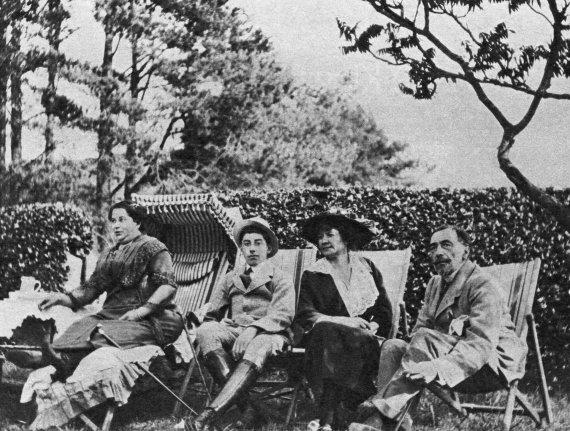 """Scanpix"" nuotr./Josephas Conradas su šeima"