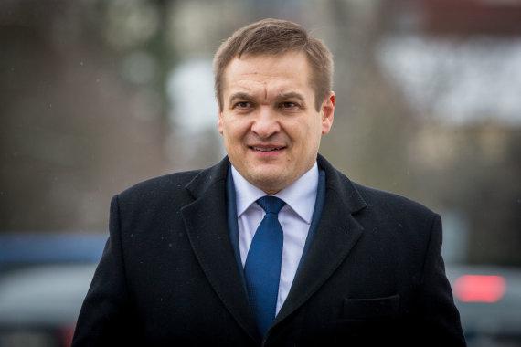 Vidmanto Balkūno / 15min nuotr./Vidaus reikalų ministras Eimutis Misiūnas