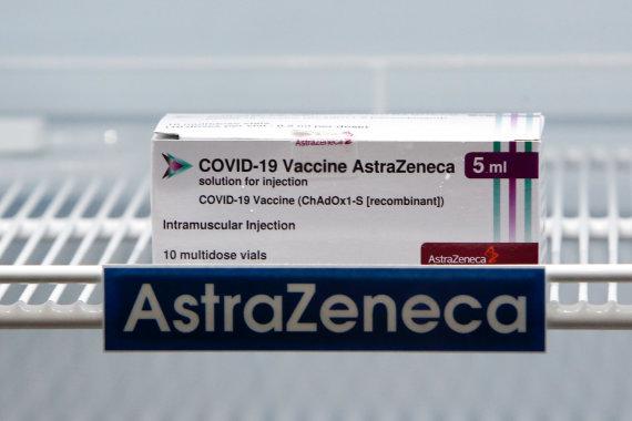 "ZUMAPRESS/Scanpix nuotr./""AstraZeneca"" vakcina"
