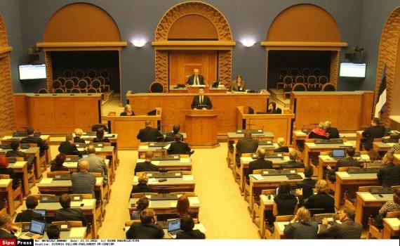 """""""Scanpix""""/""""SIPA"""" nuotr./Estijos parlamentas"""