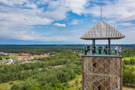 Lietuvos turizmo informacijos centrų asociacijos archyvo nuotr./Kelionės po Lietuvą: Birštono apžvalgos bokštas