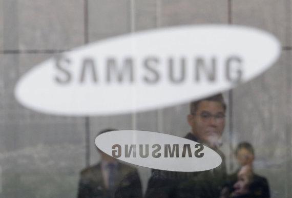 """Scanpix""/AP nuotr./""Samsung"" logotipas"