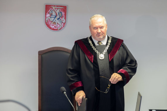 Josvydo Elinsko / 15min nuotr./Teisėjas Robertas Rainys
