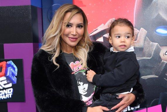 Vida Press nuotr./Naya Rivera su sūnumi