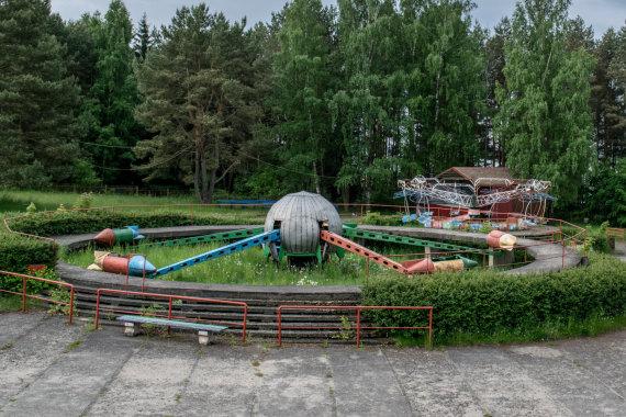 Džiuginto Telinskio nuotr,/Elektrėnų atrakcionų parkas
